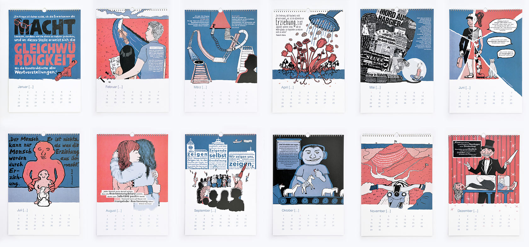 Zitiert – Ein Kalender für immer