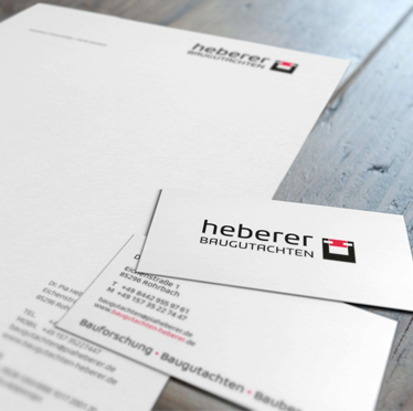 Corporate Design für Heberer