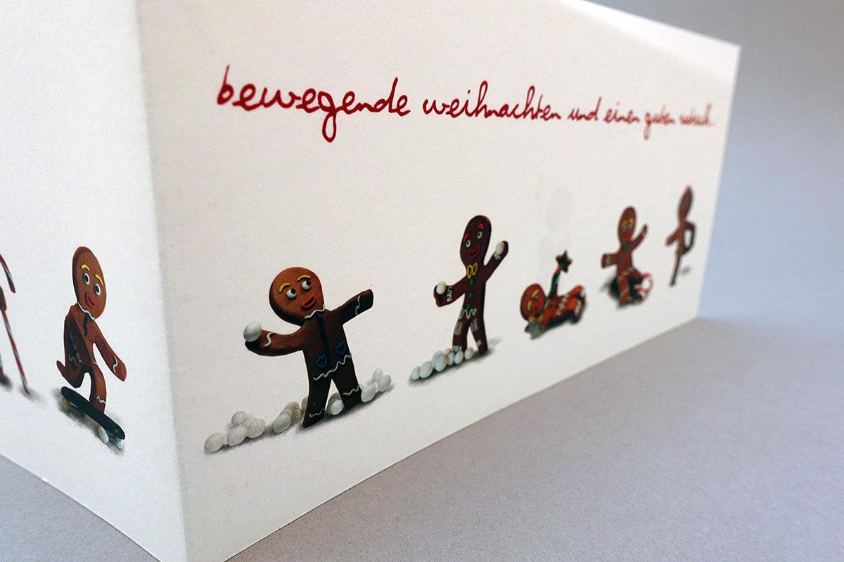 Decathlon Weihnachtskarten